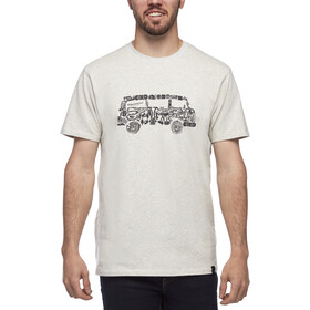 Black Diamond Vantastic Camiseta Hombre, blanco